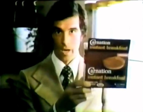 22 cents of pure quality. (Carnation Instant Breakfast commercial, 1974)