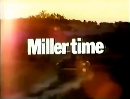 What time is it? (Miller beer commercial, 1972)