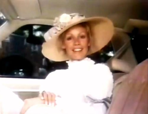 Turn of the century fashion for 1973 and Chevy Malibu.
