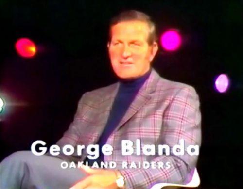 43 year old football star, George Blanda for Brut (1971)