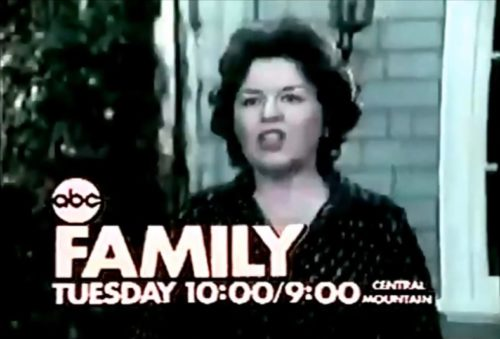 Sada Thompson faces another stressful situation in 'Family' (1976).