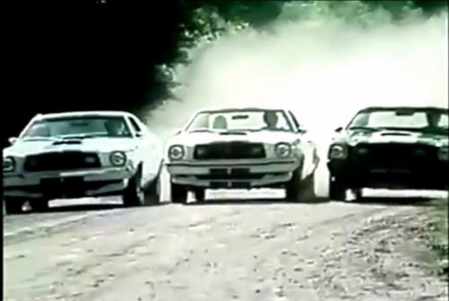 Here come the Cobras! (Ford Mustang commercial, 1976)