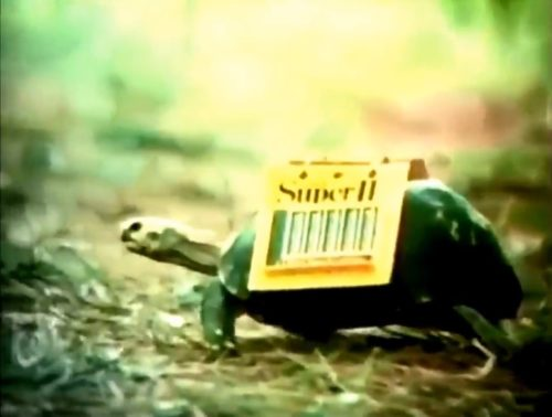 Forgotten mascots of the 1970s - the Schick Tortoise (1973).