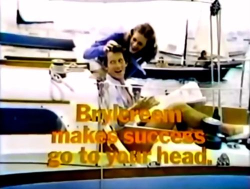 Brylcreem setting sail for success (1975).