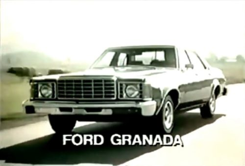 Granada or Mercedes - you decide! (Ford commercial, 1976)