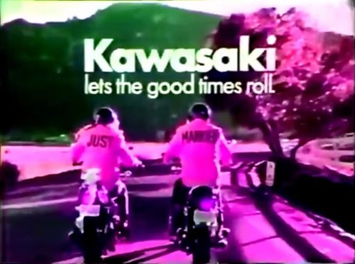Let those good times roll! (Kawasaki commercial, 1973)