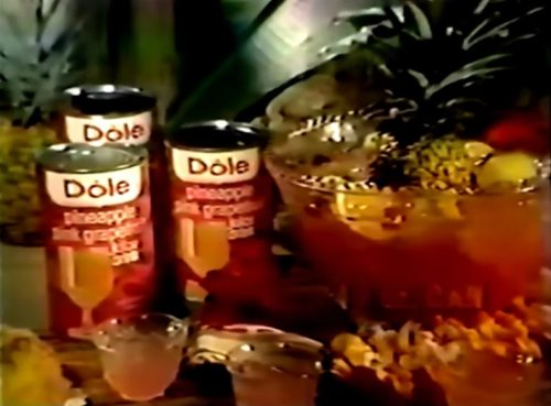Polynesian punch time. (Publix commercial, 1977)