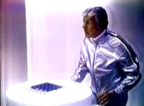 Sci Fi Dick Van Dyke. Right on, 70s! (Touché game commercial, 1978)