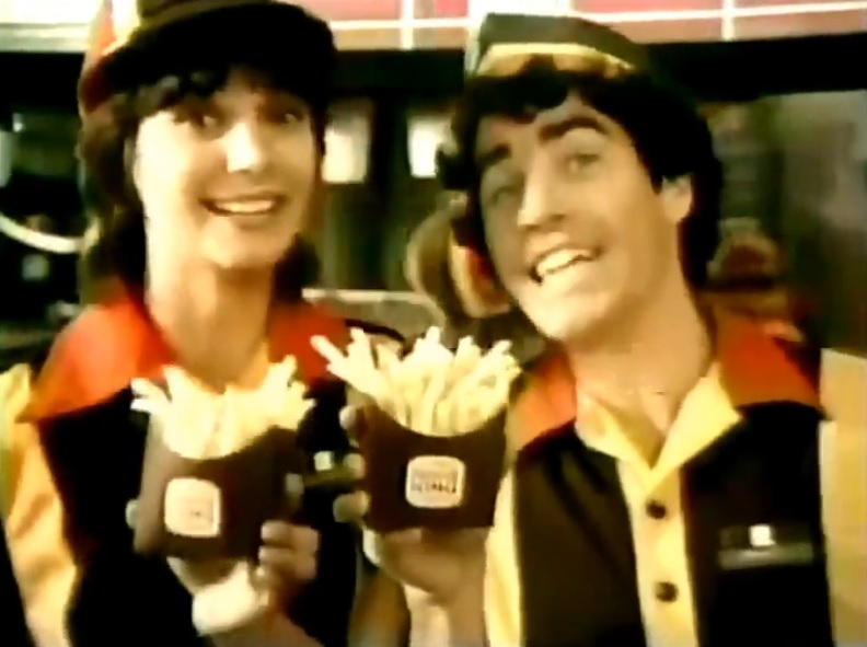 70s Spots Burger King And I 1978 79 Bionic Disco