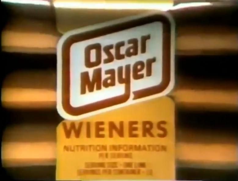70s spots oscar mayer wieners bacon 1977 bionic disco